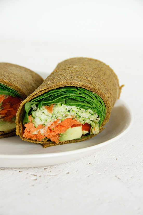 Raw Pumpkin Wraps