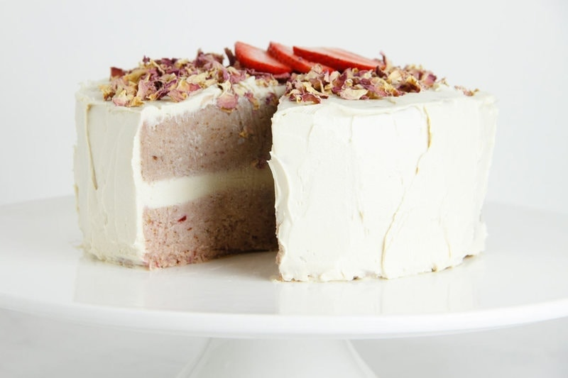 ... , and a Strawberry Layer Cake with Rose Frosting - Ascension Kitchen