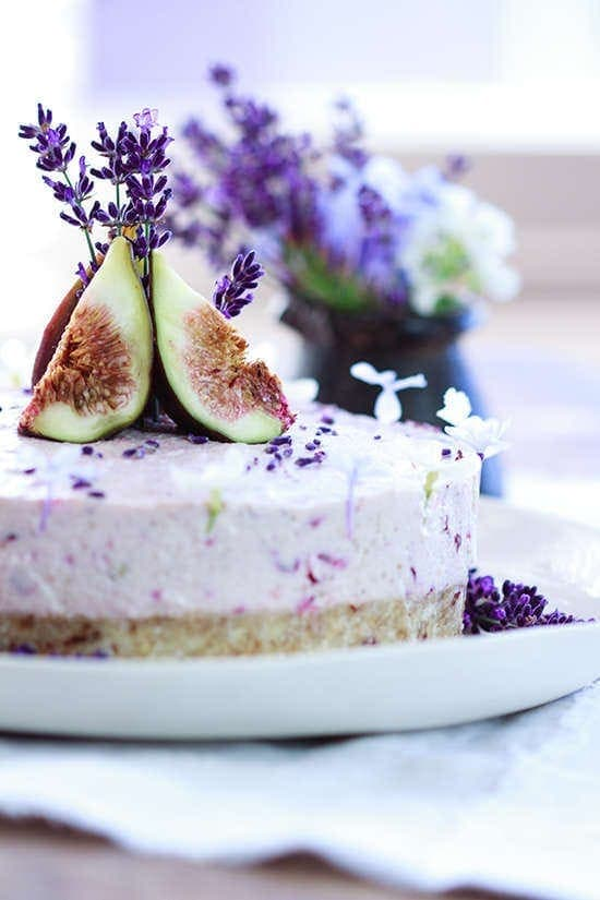 Raw Lavender Cake Recipe