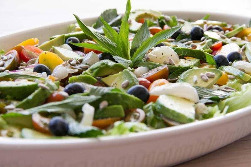 Lychee-Avo-Salad