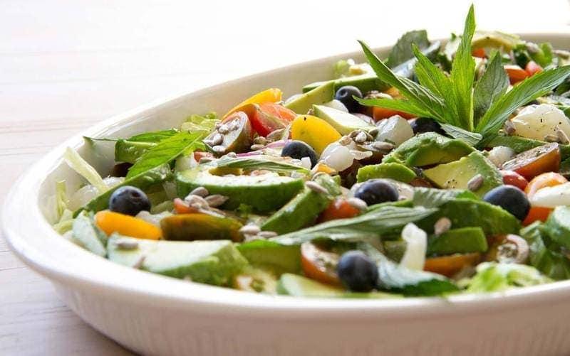 Lychee-Avocado-Salad
