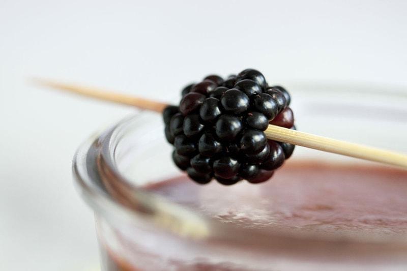 Blackberry-Smoothie
