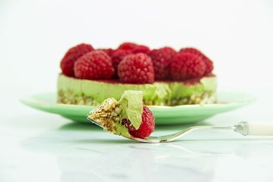 Raw Green Tea Tart_2