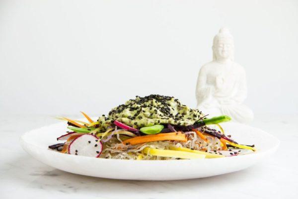Anti-inflammatory Sesame Sea Noodle Salad - Ascension Kitchen