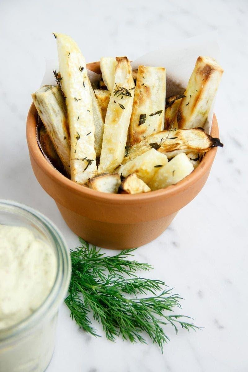 Celeriac-Chips-and-Tartare-Sauce-8