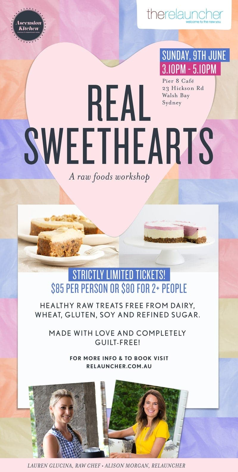 Real Sweethearts - A Raw Foods Workshop - Ascension Kitchen