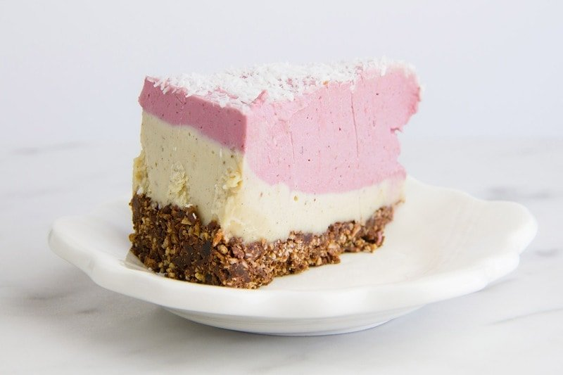 Raw Raspberry White Chocolate Cake