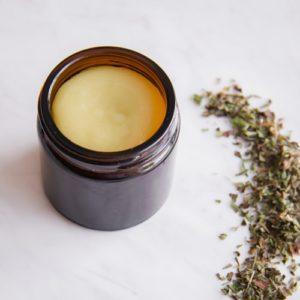 Cod Sore Salve in a jar