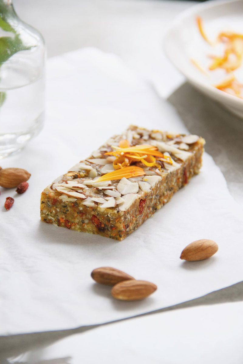 Raw Calendula Beauty Bars
