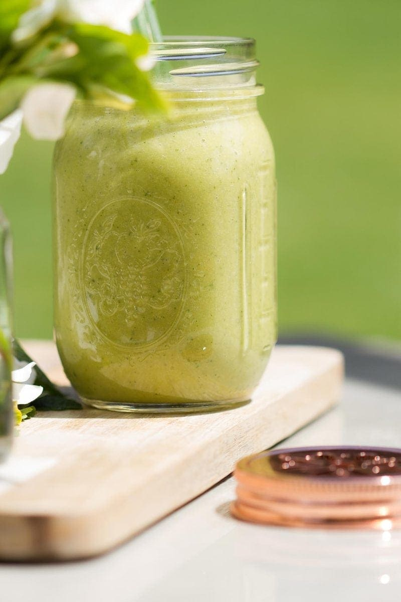 Matcha Mint Aloe Smoothie