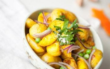 Turmeric Roasted Potatoes