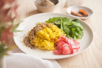 Turmeric Millet and Butternut Squash