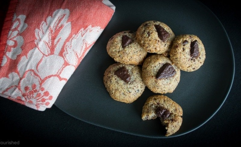 The Easiest Most Nourishing Choc Chip cookie Ever!