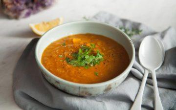 Nourishing Red Lentil Rosemary Soup