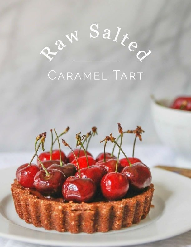 Raw Salted Caramel Tart