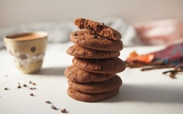 Mexican Hot Chocolate Cookies {Gluten free, Vegan, Refined Sugar Free}
