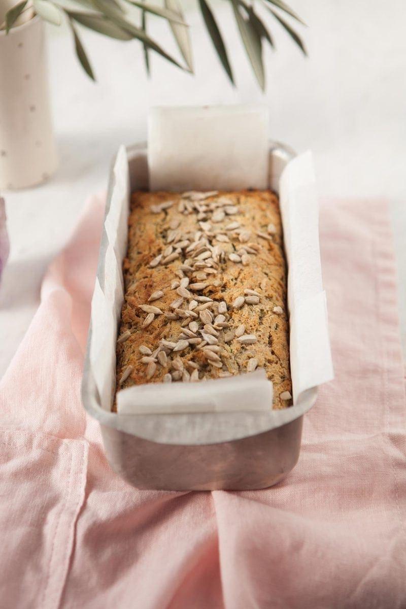Healthy Zucchini Bread Gluten Free Vegan