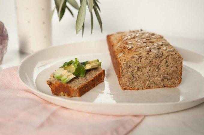 Healthy Zucchini Bread {V, GF}