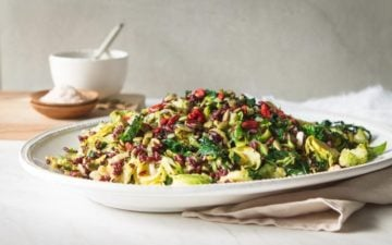 Liver Loving Sprouted Forbidden Rice Salad