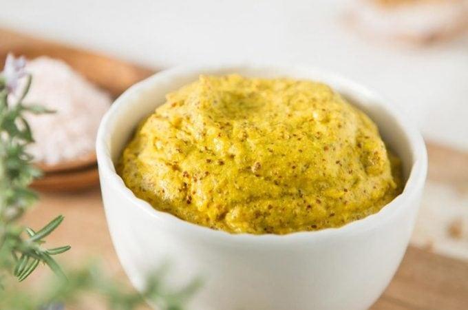 Raw Homemade Mustard