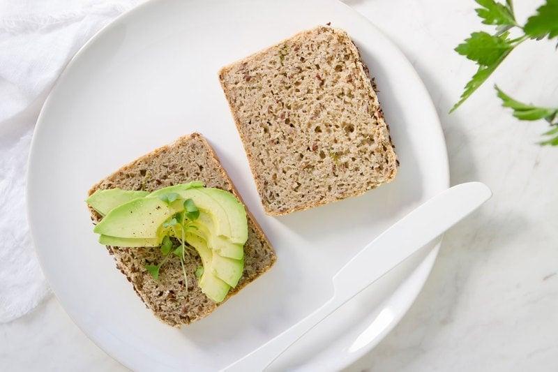 Gluten Free Buckwheat and Millet Bread