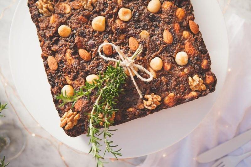 Healthy Gluten Free Christmas Fruit Cake
