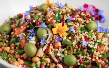 Chickpea Sorghum Salad with fresh herbs and spices. A vegan and gluten free recipe. #sorghumsalad #sorghumsaladglutenfree #sorghumsaladgrains #sorghumsaladvegan #sorghumsaladrecipes #sorghumrecipes #sorghumrecipesdinner #sorghumrecipeshealthy #sorghumrecipesvegan #sorghumrecipessalad #sorghumrecipeshowtomake #AscensionKitchen // Pin to your own inspiration board! //