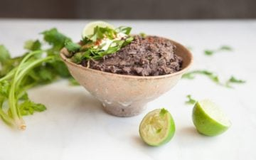Classic Refried Black Beans