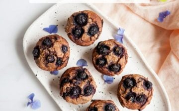 Healthy Gluten Free Blueberry Muffins. These are made with the iron rich whole grain teff, substitutions are provided. #glutenfreeblueberrymuffins #glutenfreeblueberrymuffinsvegan #glutenfreeblueberrymuffinshealthy #glutenfreeblueberrymuffinseasy #glutenfreeblueberrymuffinsbest #glutenfreeblueberrymuffinsrecipe #glutenfreeblueberrymuffinsnosugar #glutenfreeblueberrymuffinsalmondmeal #teffrecipes #teffrecipesvegan #teffbaking #AscensionKitchen // Pin to your own inspiration board! //