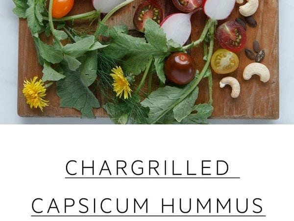 Chargrilled Capsicum Hummus with cashews and miso. #chargrilledhummus #capsicumhummus #redpepperhummus #redpepperhummusrecipe #roastedredpepperhummus #redpepperhummusroasted #redpepperhummusrecipe #AscensionKitchen // Pin to your own inspiration board! //