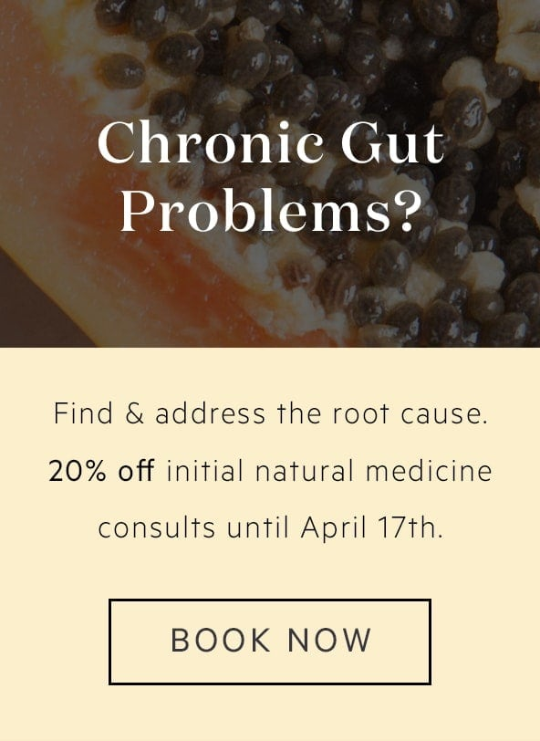 Naturopathy Herbal Medicine Consultations for Gut Health