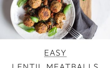 Quick and easy vegan lentil meatballs. #lentilmeatballsvegan #lentilmeatballsvegetarian #lentilmeatballseasy #lentilmeatballstomato #lentilmeatballsred #lentilmeatballsbaked #lentilmeatballshealthy #lentilmeatballsglutenfree #lentilmeatballsitalian #lentilmeatballssimple #veganmeatballs #AscensionKitchen // Pin to your own inspiration board! //