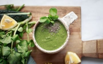 Wild Watercress Soup