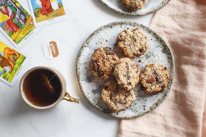 Zippy Chocolate Apricot Oat Cookies