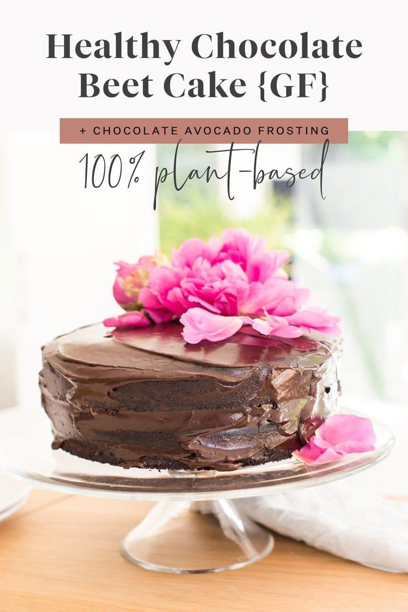 Healthy Chocolate Beet Cake
