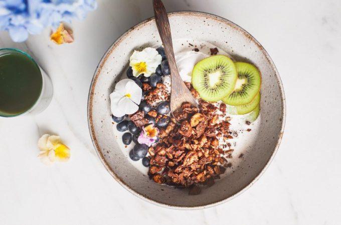 Chocolate Grain-Free Granola