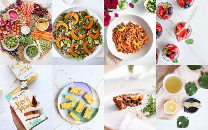 Healthy Plant-Based Christmas Menu {2017}