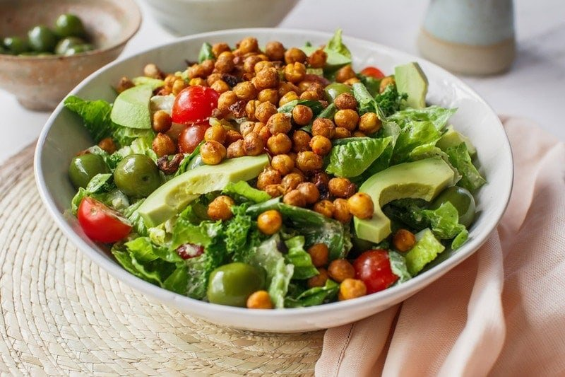 Vegan Caesar Salad - Ascension Kitchen