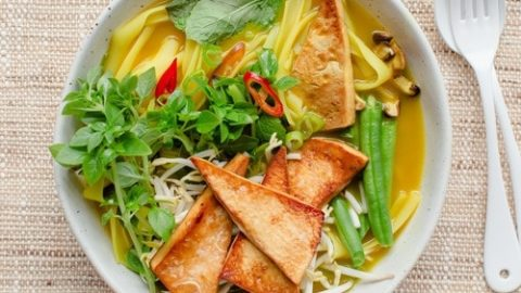 Our Vietnamese Pho is a nourishing vegan and wheatfree soup