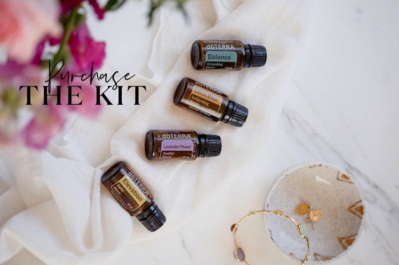 Banner ad to purchase essential oils as natural mood boosters