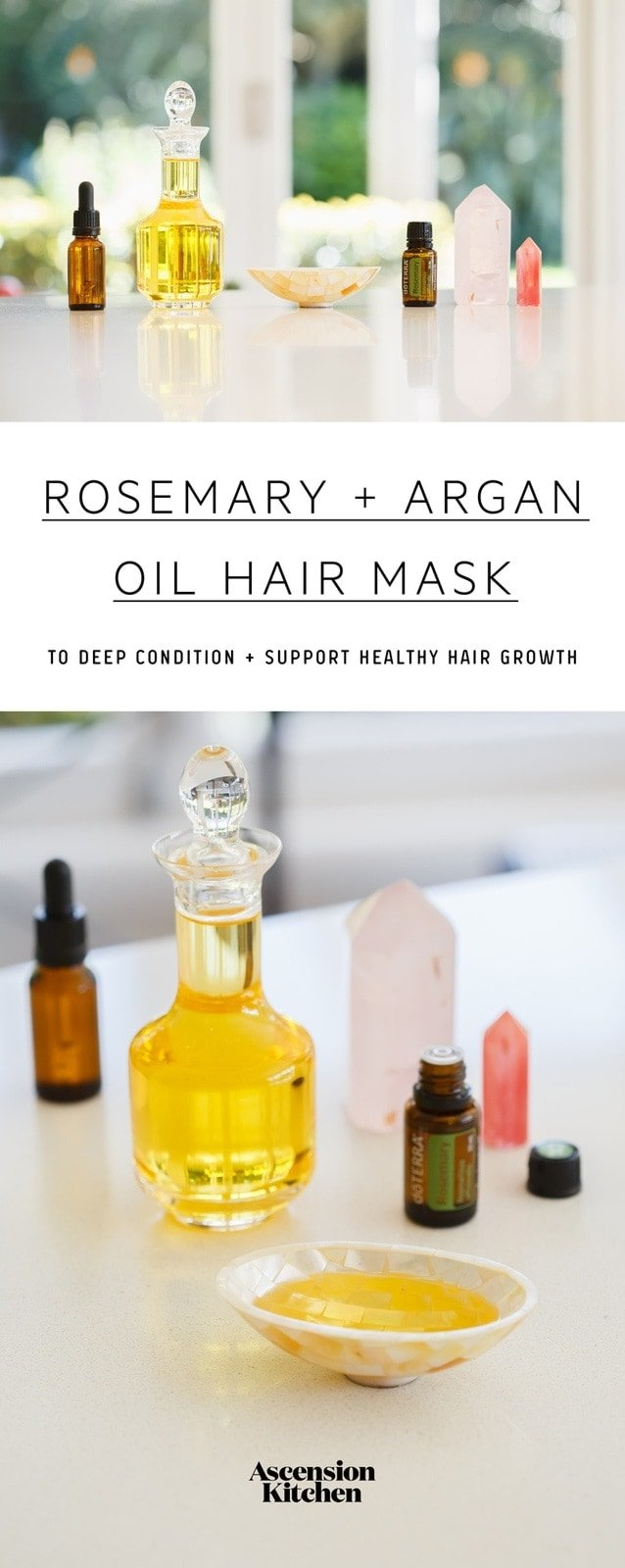 Argan Oil Hair Mask With Rosemary Ascension Kitchen