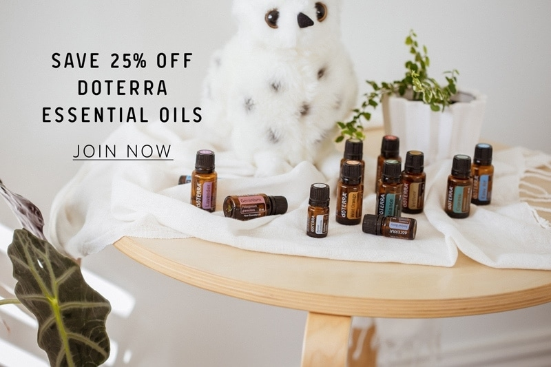 Banner ad to join doTERRA