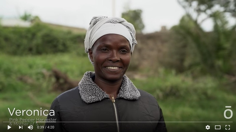 Video graphic for co-impact sourcing in Kenya