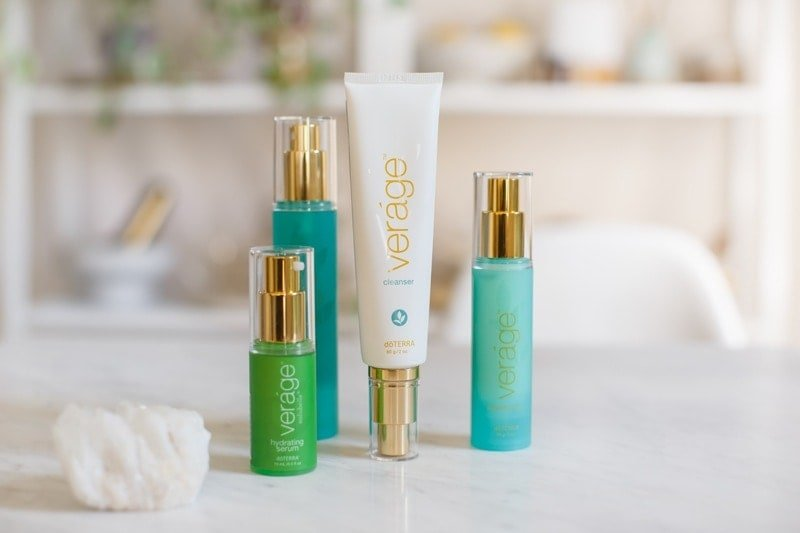 The doTERRA Vergae collection, my new essential oil skin care