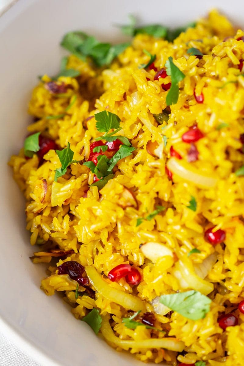 Vibrant Saffron Rice Recipe Ascension Kitchen