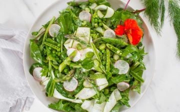 Asparagus Salad for your Christmas dinner